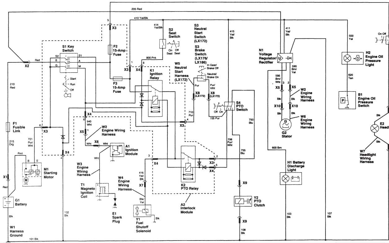 John Deere L130 Wiring Diagram | Free Wiring Diagram on