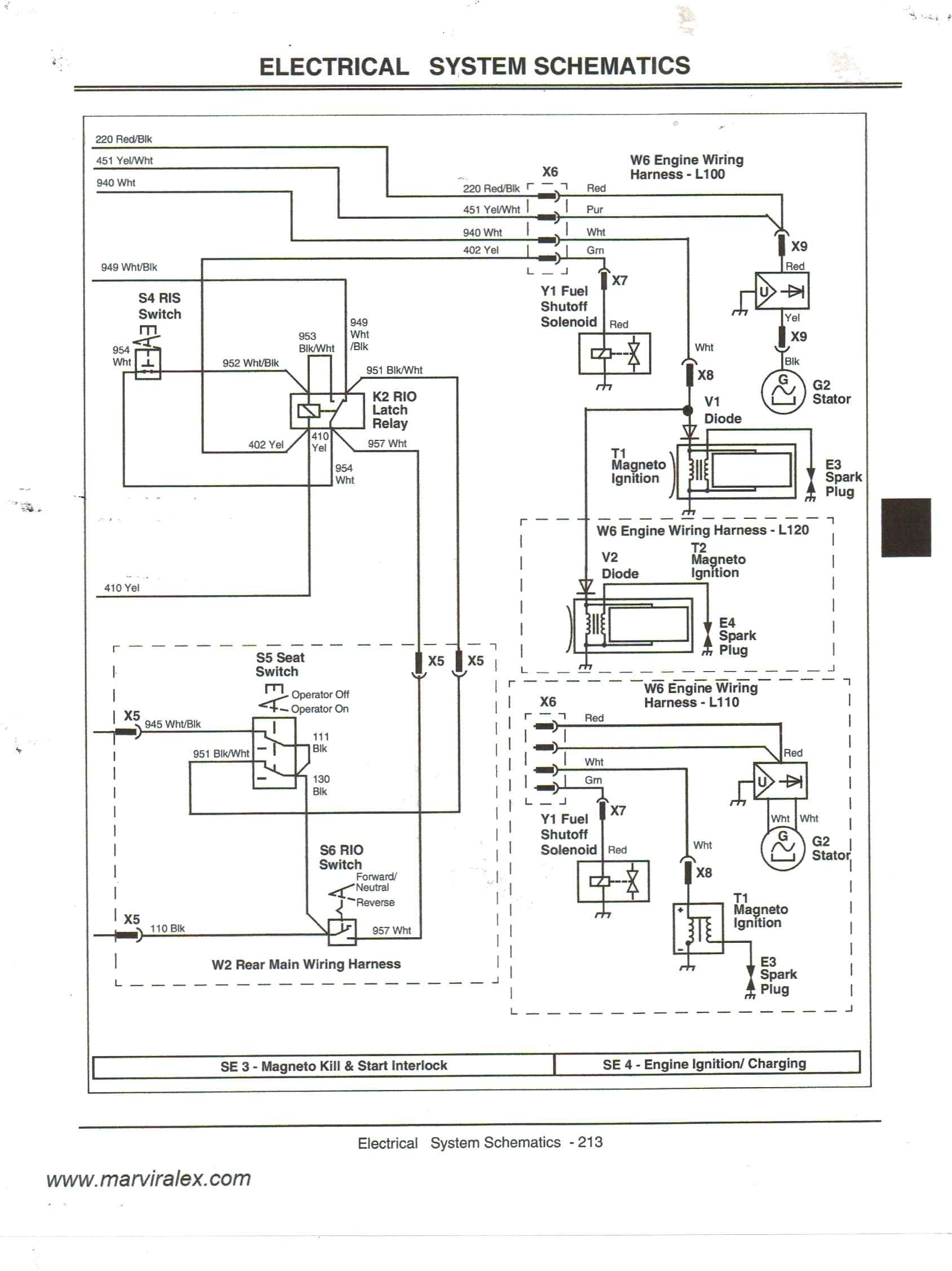 john deere l130 wiring diagram Collection-Wiring Diagram for John Deere 212 Fresh Wiring Diagram for John Deere X300 Refrence John Deere 5-n