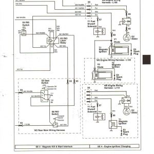 John Deere Lawn Mower Wiring Diagram - John Deere Wiring Diagrams Recent Wiring Diagram for John Deere F525 New John Deere Gator Wiring 15o