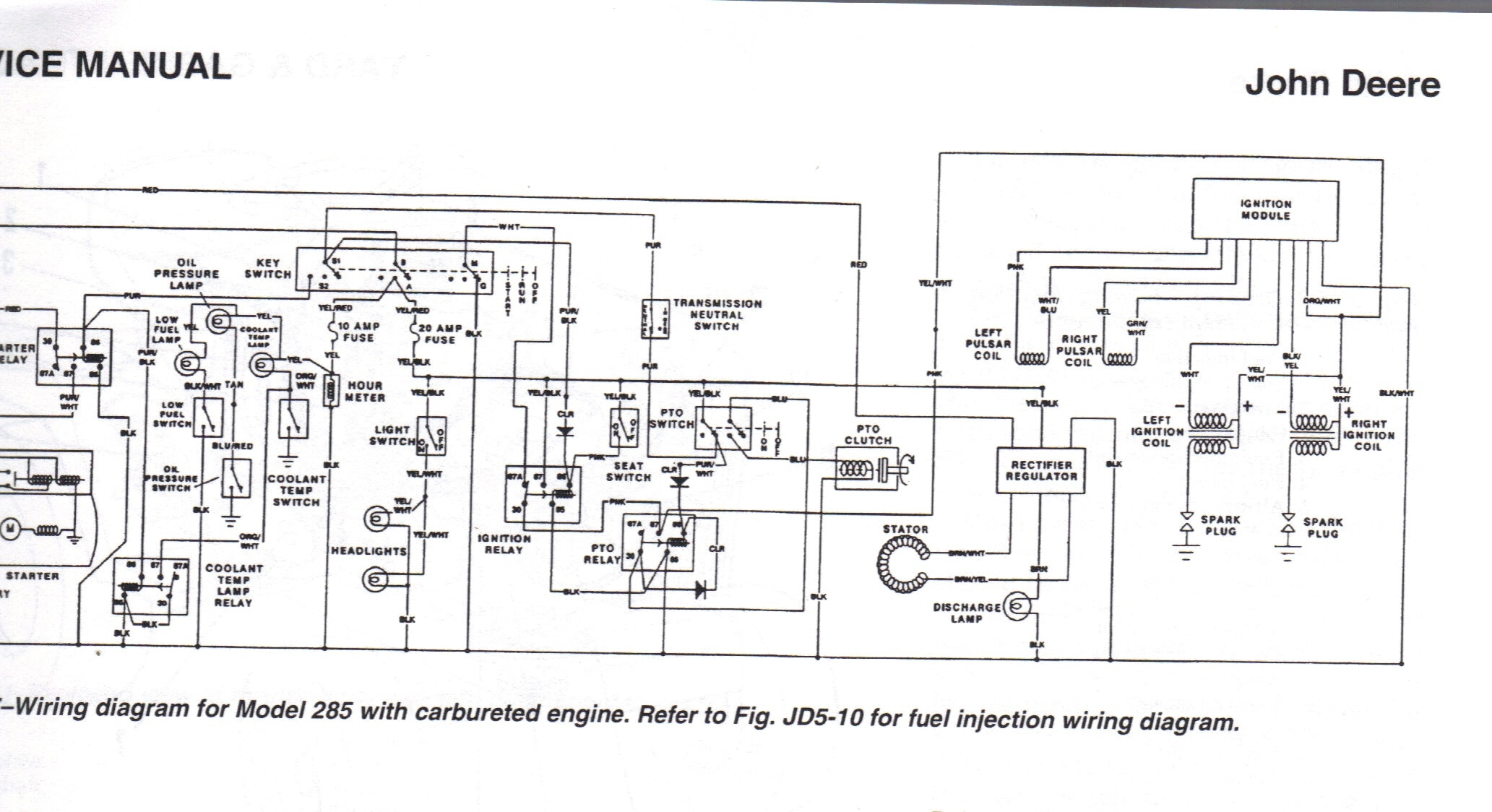 john deere lt155 wiring schematic free wiring diagram. Black Bedroom Furniture Sets. Home Design Ideas