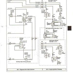 John Deere Lt155 Wiring Schematic - Wiring Diagram for John Deere Lt155 New John Deere Gator Wiring Schematic Best Deer S Water 13h