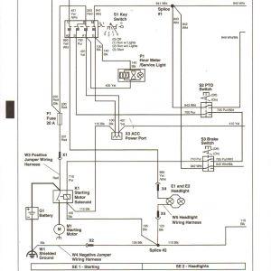 John Deere Stx38 Wiring Schematic - John Deere Gator 4x2 Wiring Diagram Best 8g