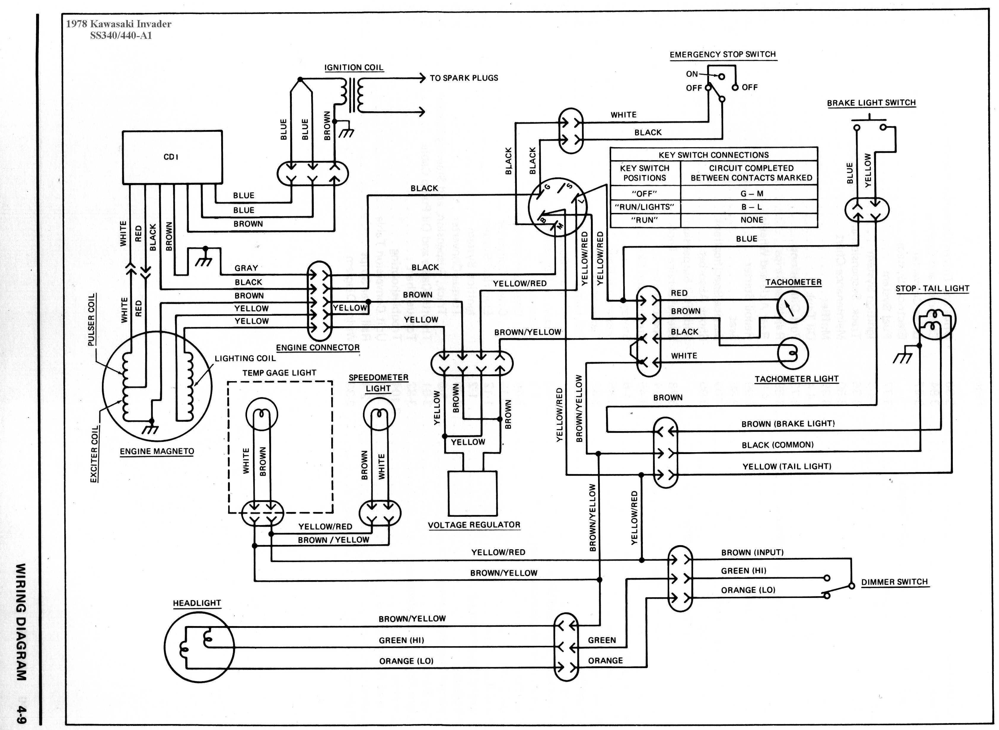 kawasaki bayou 220 wiring schematic Download-Wiring Diagram Motor Kawasaki New 1990 Kawasaki Bayou 220 Wiring Diagram New 39 Fantastic 1999 Yamaha 7-g