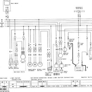 Kawasaki Mule 550 Wiring Diagram - Kawasaki Mule 610 Wiring Diagram Best 77 with Additional Kenwood Kdc 138 New nor 6n