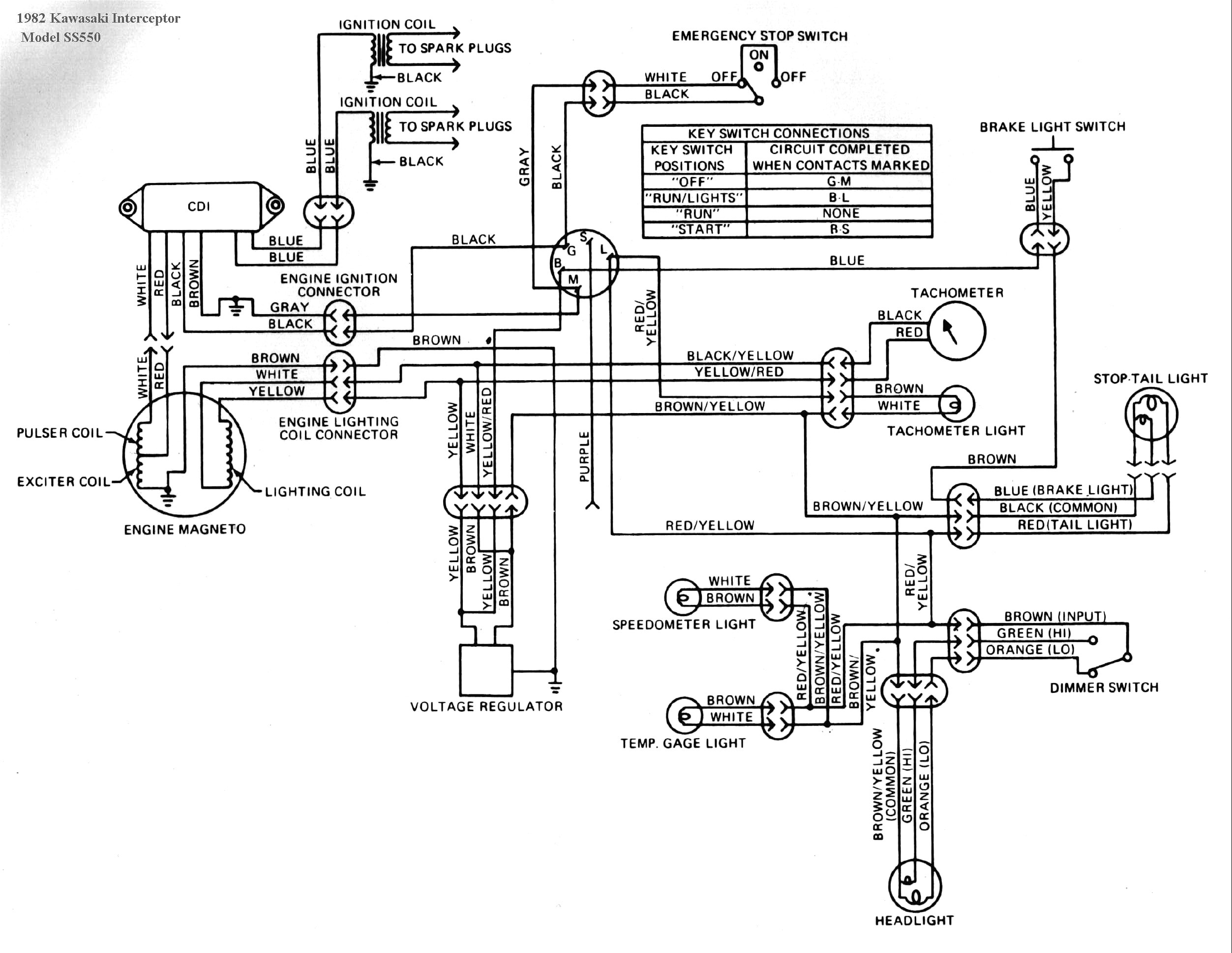 kawasaki ltd 550 wiring diagram wiring diagram img  kawasaki ltd 550 wiring diagram #7