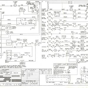 Kenmore Dryer Power Cord Wiring Diagram | Free Wiring Diagram on