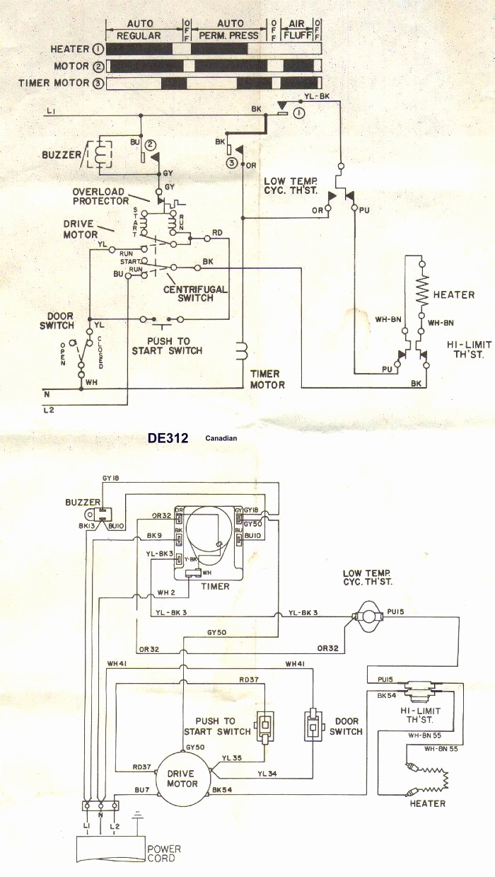 kenmore dryer wiring diagram quotes kenmore dryer wiring schematic diagrams kenmore dryer thermostat wiring diagram | free wiring diagram #5