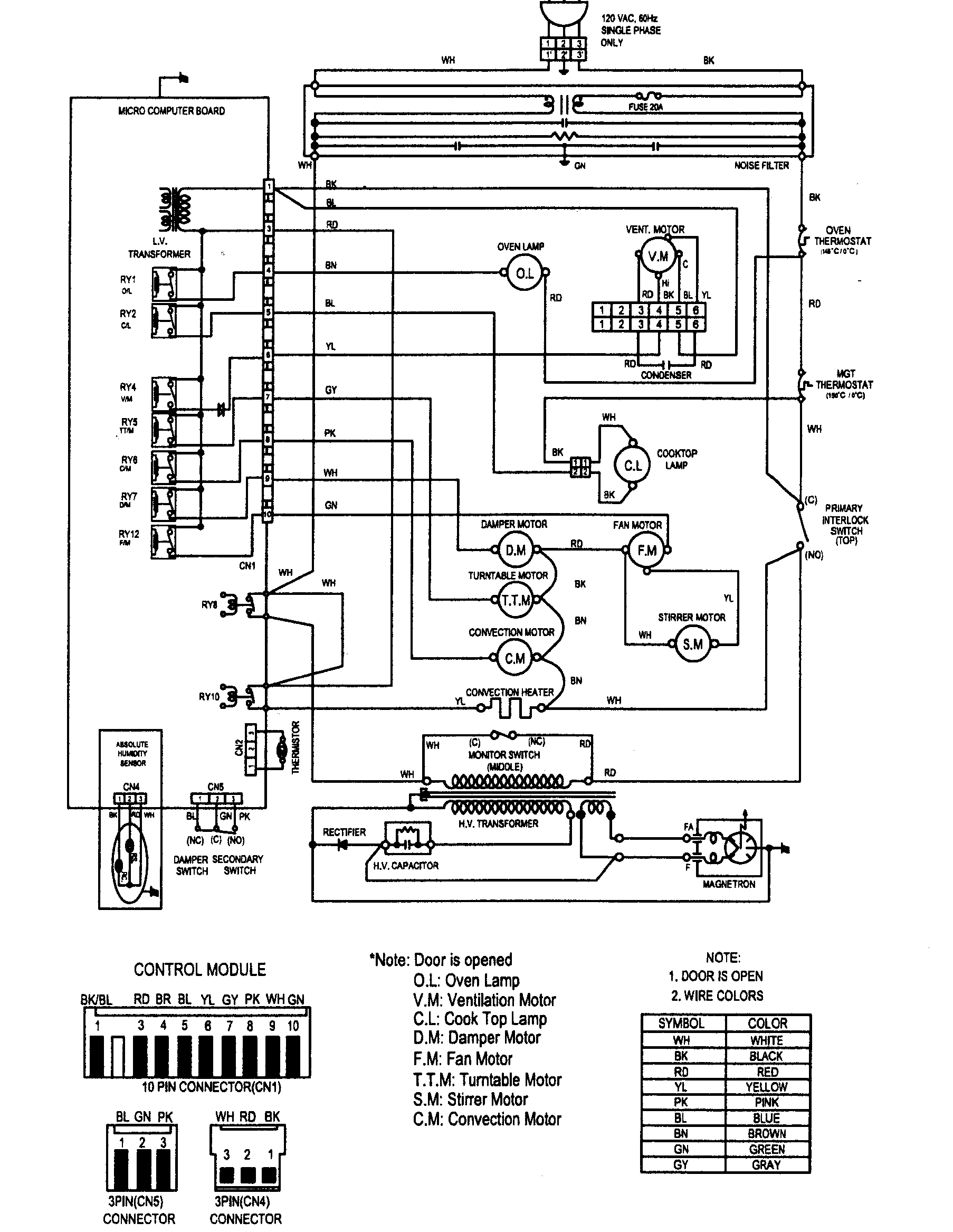 Kenmore Wire Diagrams - Wiring Diagram Structure on