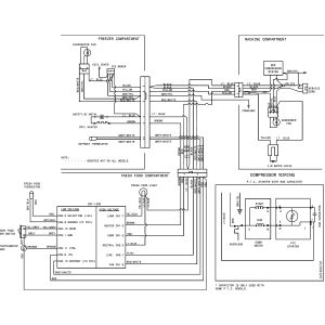 Kenmore Refrigerator Wiring Schematic - Kenmore Refrigerator Wiring Diagram New Diagram Sears Kenmore Refrigerator Parts Diagram 13s