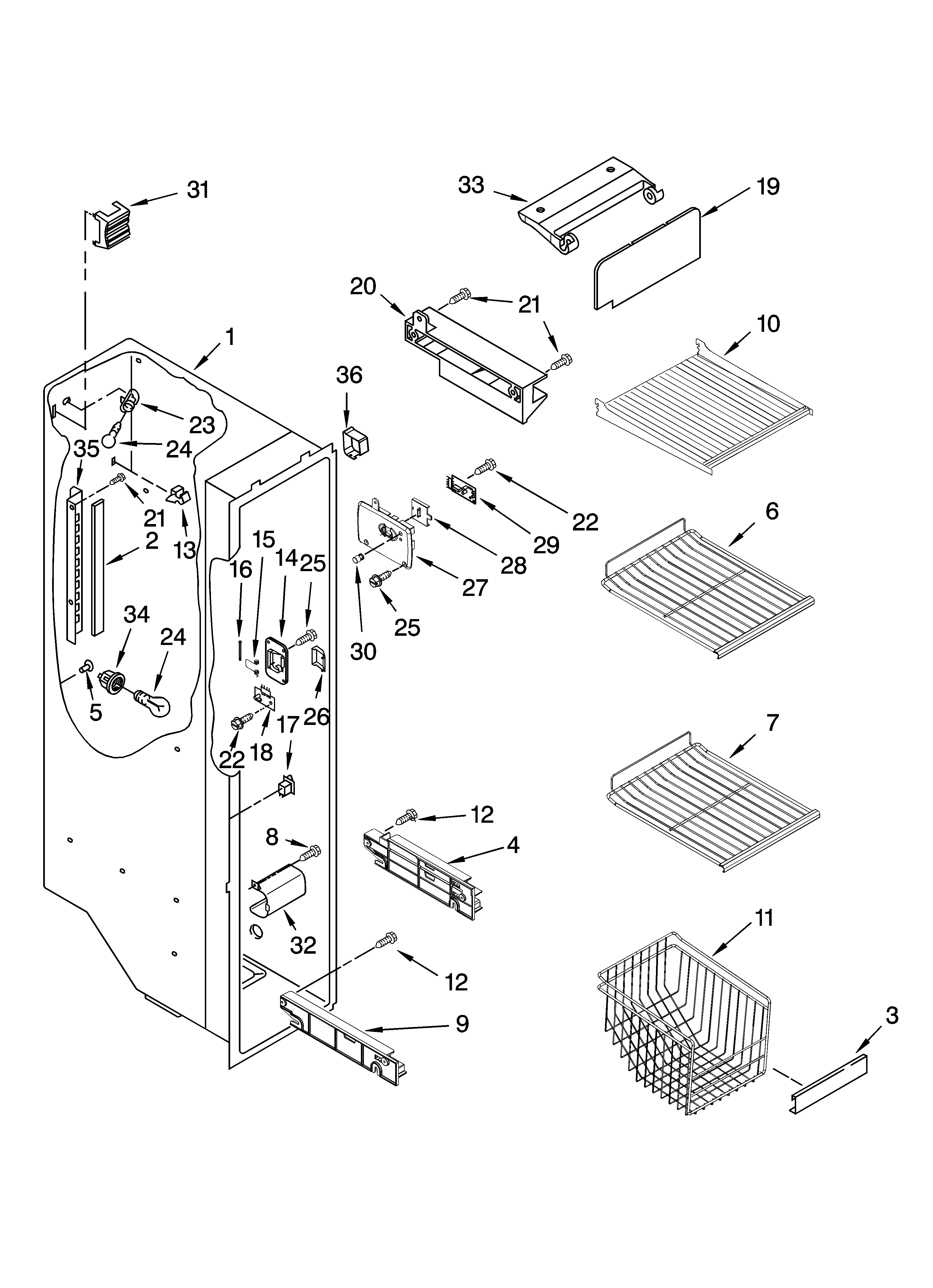 kenmore side by side refrigerator wiring diagram - kenmore ice maker parts  diagram new kenmore elite
