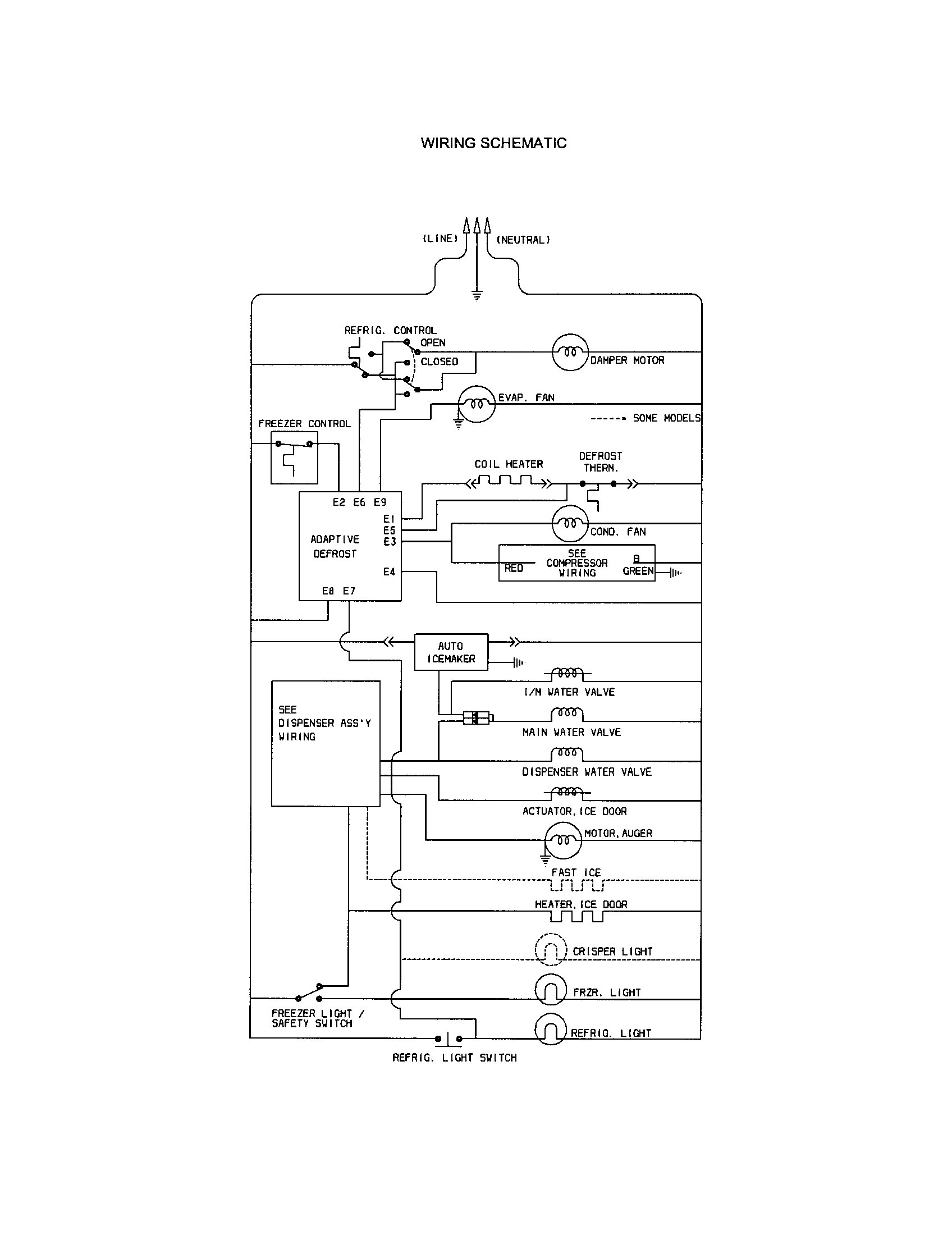 Kenmore Side By Side Refrigerator Wiring Diagram