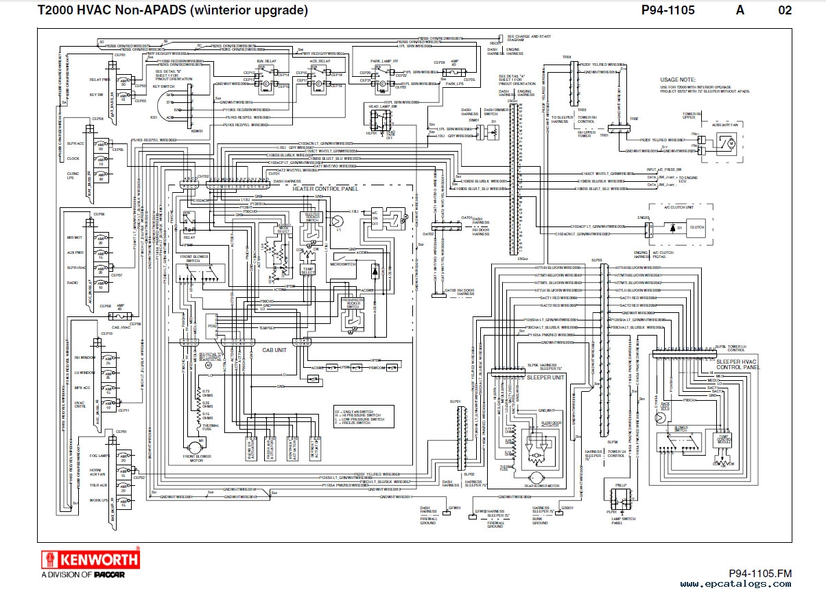 Diagram  Kenworth W900 Wiring Schematic Diagrams Full Version Hd Quality Schematic Diagrams
