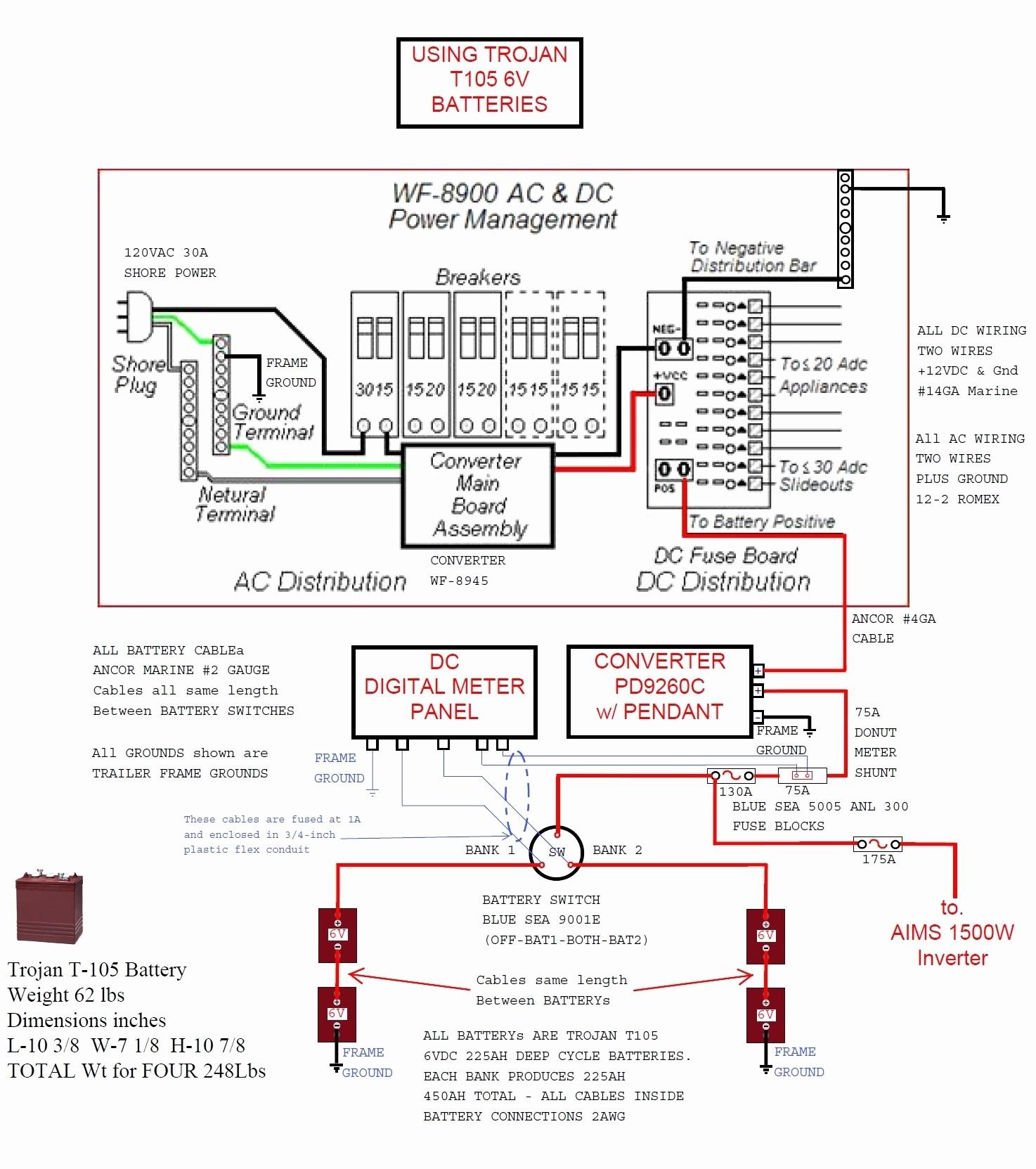 Damon Tuscany Rv Wiring Diagram | Wiring Liry on