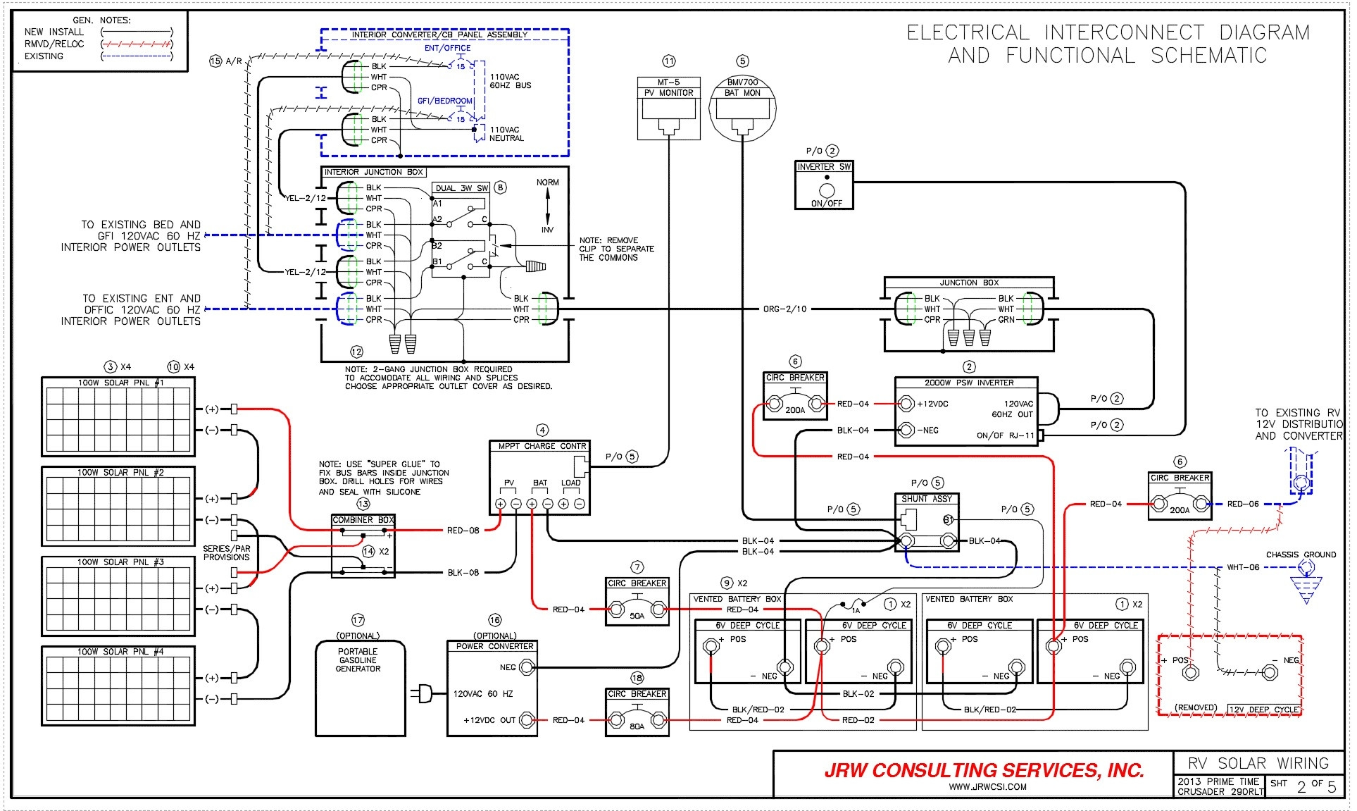 Wiring Diagram For Motorhome - Wiring Diagram General