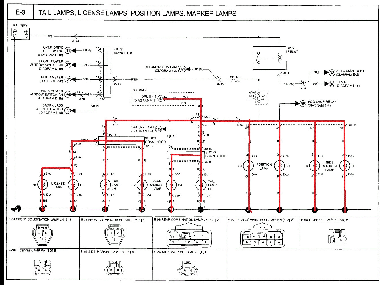 Diagram  2002 Kia Sportage Light Wiring Diagram Full