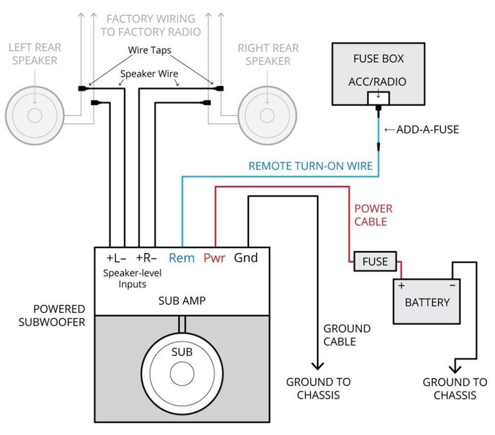 Kicker       Kisl       Wiring       Diagram      Free    Wiring       Diagram