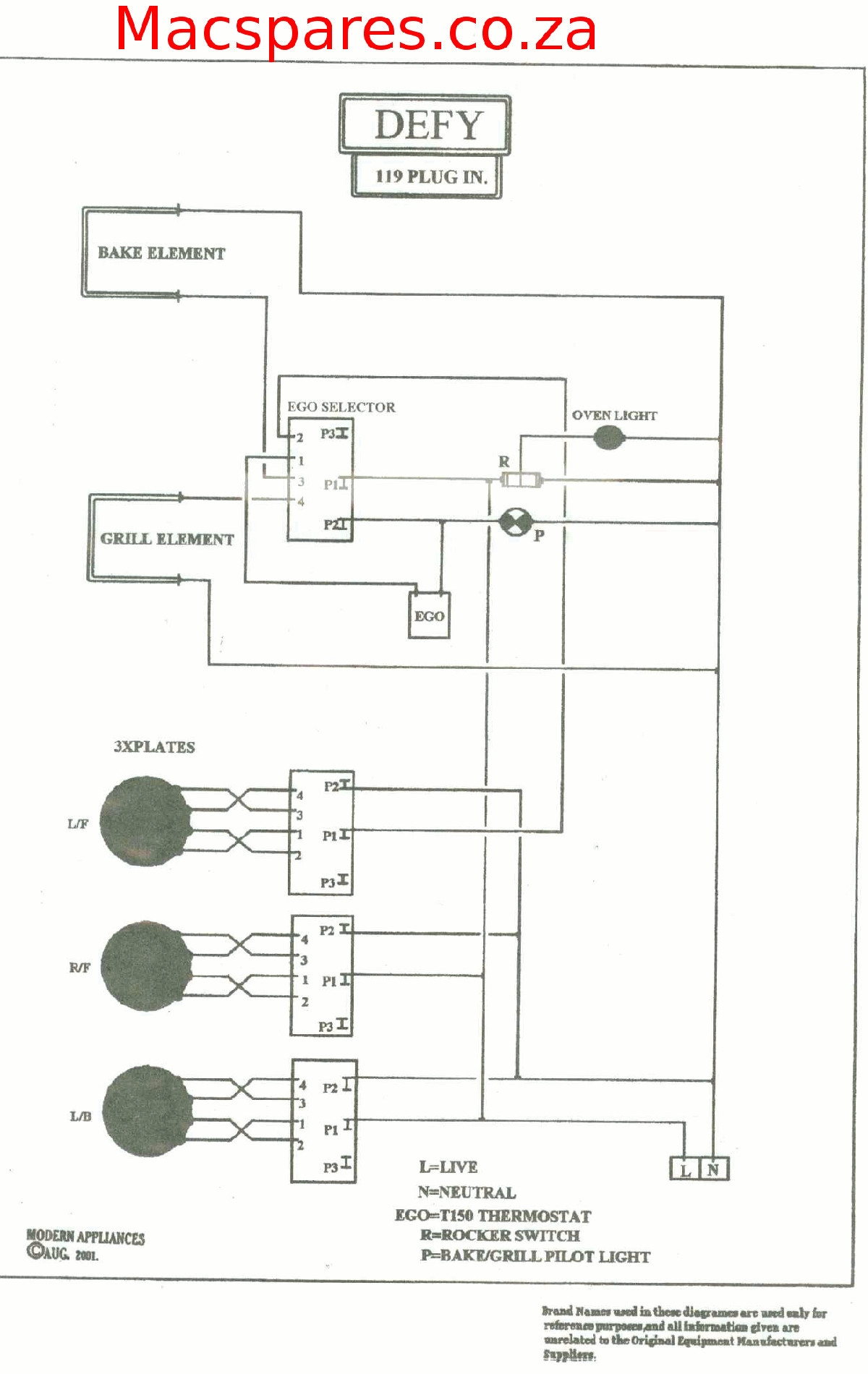 Wiring Diagram Kitchen