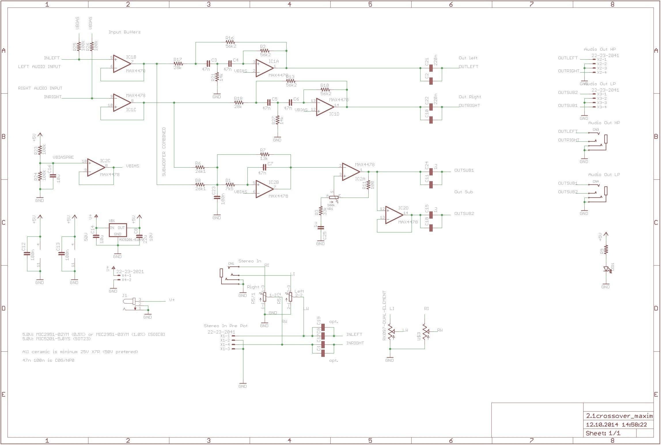 kitchen wiring diagram Download-Kitchen Electrical Wiring Diagram Aktive Crossoverfrequenzweiche Mit Max4478 360customs Crossover Schematic Rev 0d Wiring Lighting 3-m