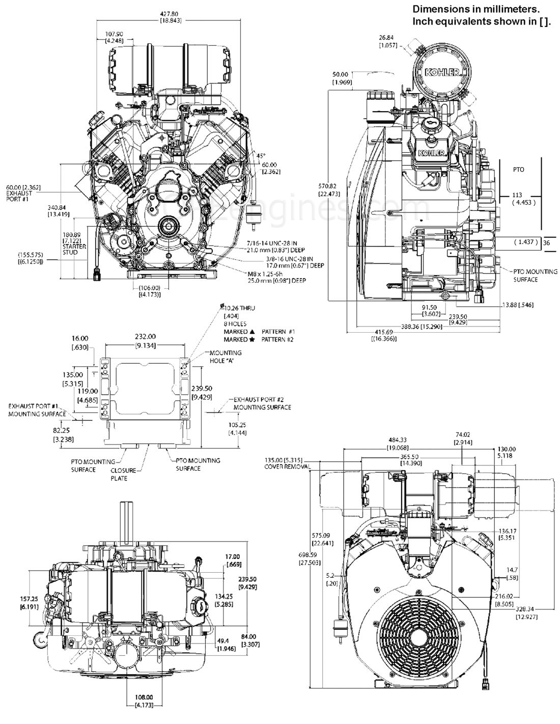 kohler engine wiring schematic