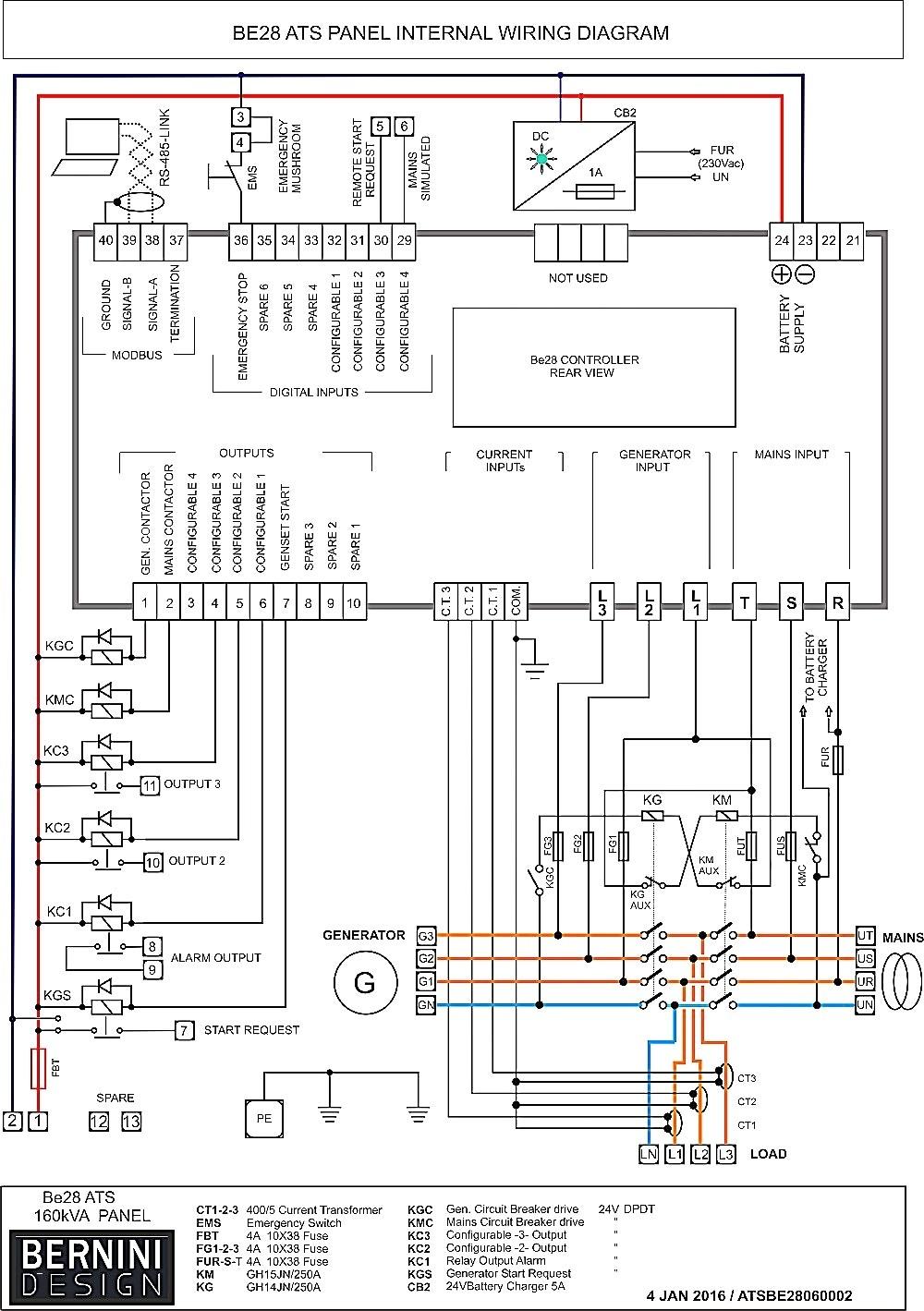 Kohler Transfer Switch Wiring Diagram