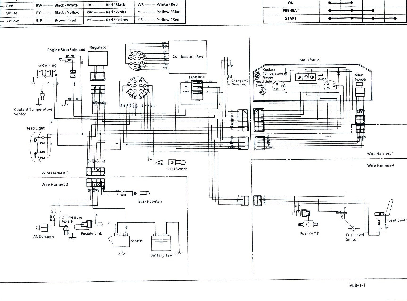 kubota wiring diagram pdf Download-Kubota Ignition Switch Wiring Diagram New Kubota Generator Wiring Diagram Inspirationa Kubota Wiring Diagram 3-b