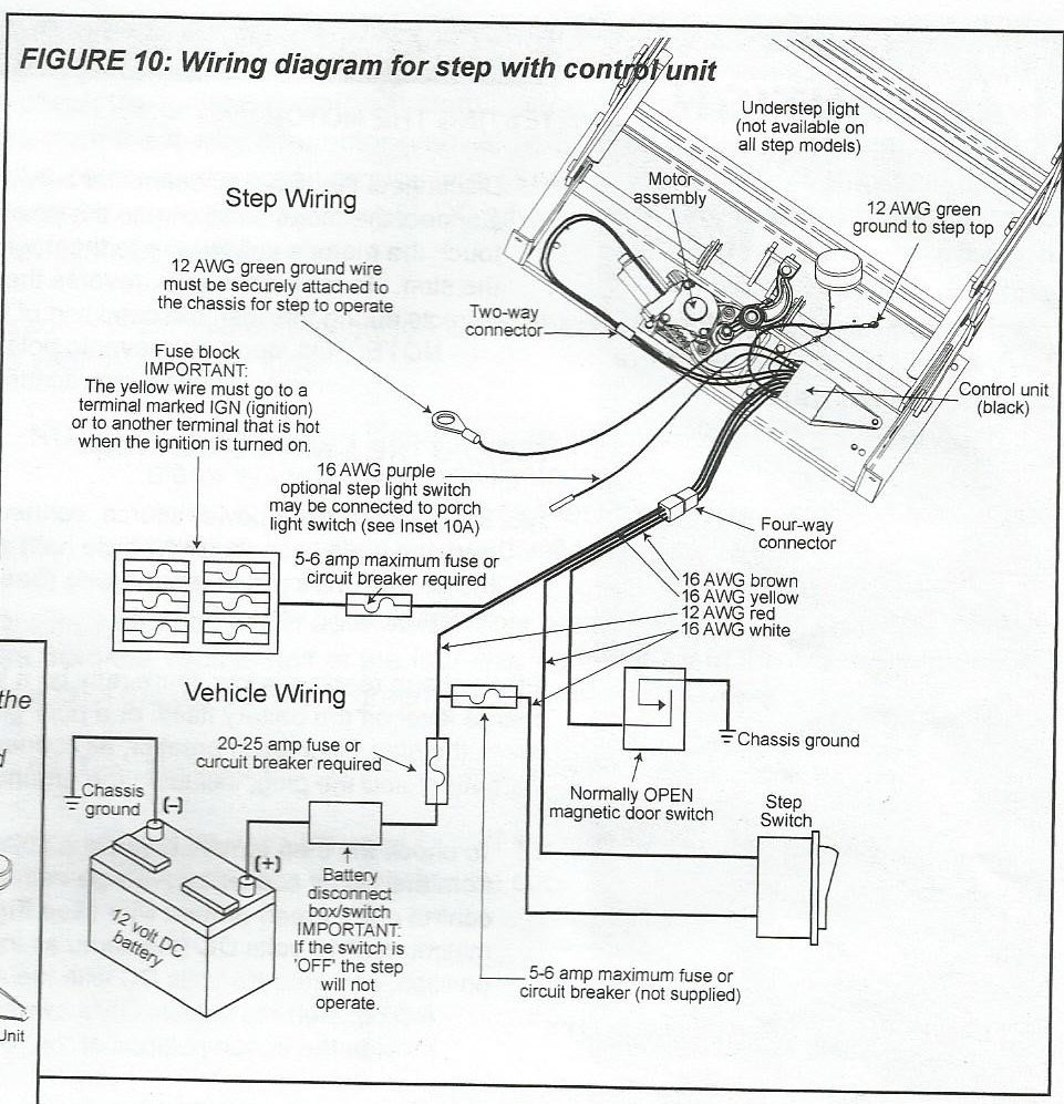 kwikee electric step wiring diagram Collection-great kwikee electric step wiring diagram 35 in duncan designed hb rh justsayessto me 20-k