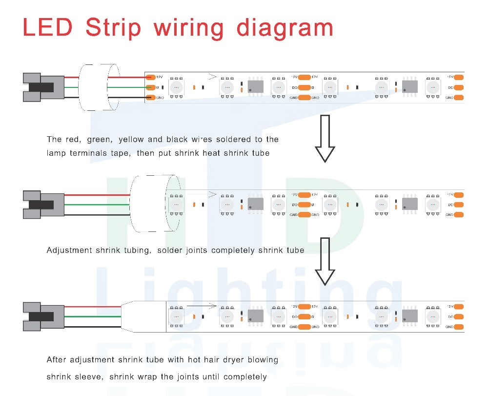 Led Channel Letter Wiring Diagram - Led Channel Letter Wiring Diagram 1 12i
