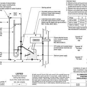 Led Channel Letter Wiring Diagram - This Post 10t