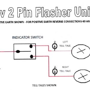 Led Flasher Wiring Diagram - 12v Led Flasher Circuit Diagram Best 2 Pin Flasher Relay Wiring Diagram Wiring Diagram 15q