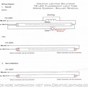 Led Fluorescent Tube Replacement Wiring Diagram - Led Fluorescent Tube Wiring Diagram Lovely Wiring A Finished Garage Fluorescent Light Fixture with Electrical 19k