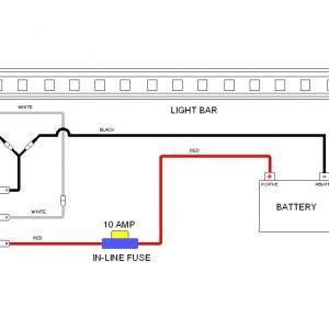 Led Light Bar Wiring Diagram - F Road Led Light Bar Wiring Harness Ampper 14 Awg Heavy Duty for In Diagram Led 3e