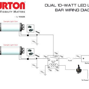 Led Light Bar Wiring Harness Diagram - Wiring Harness Diagram for Light Bar Save Led Light Bar Wiring Diagram Inspirational Wiring Diagrams Wurton 18q