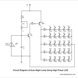 Led Street Light Wiring Diagram - Led Street Light Wiring Diagram solar Powered Led Street Light with Auto Intensity Control Wiring 9c