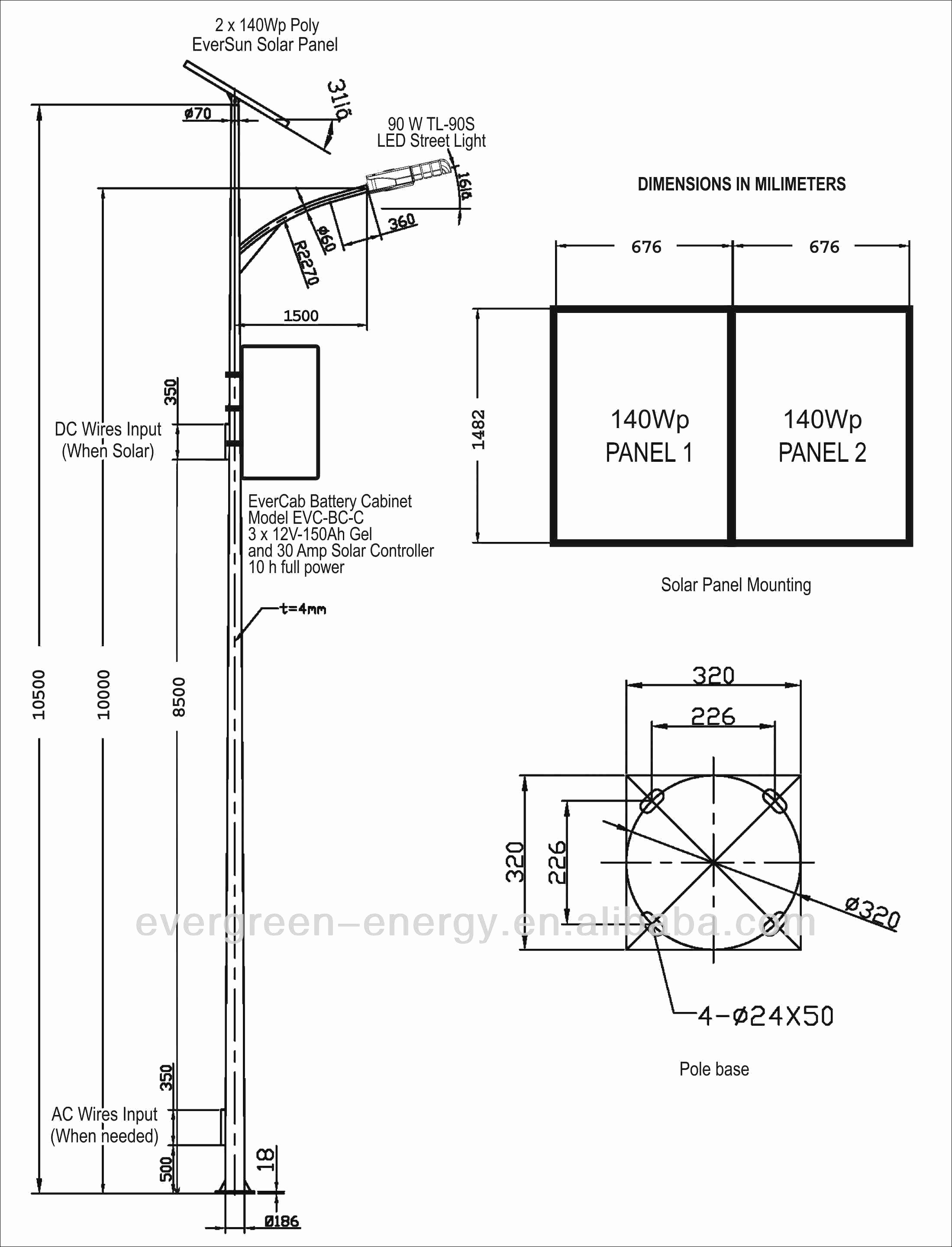 Led Street Light Wiring Diagram Free Wiring Diagram