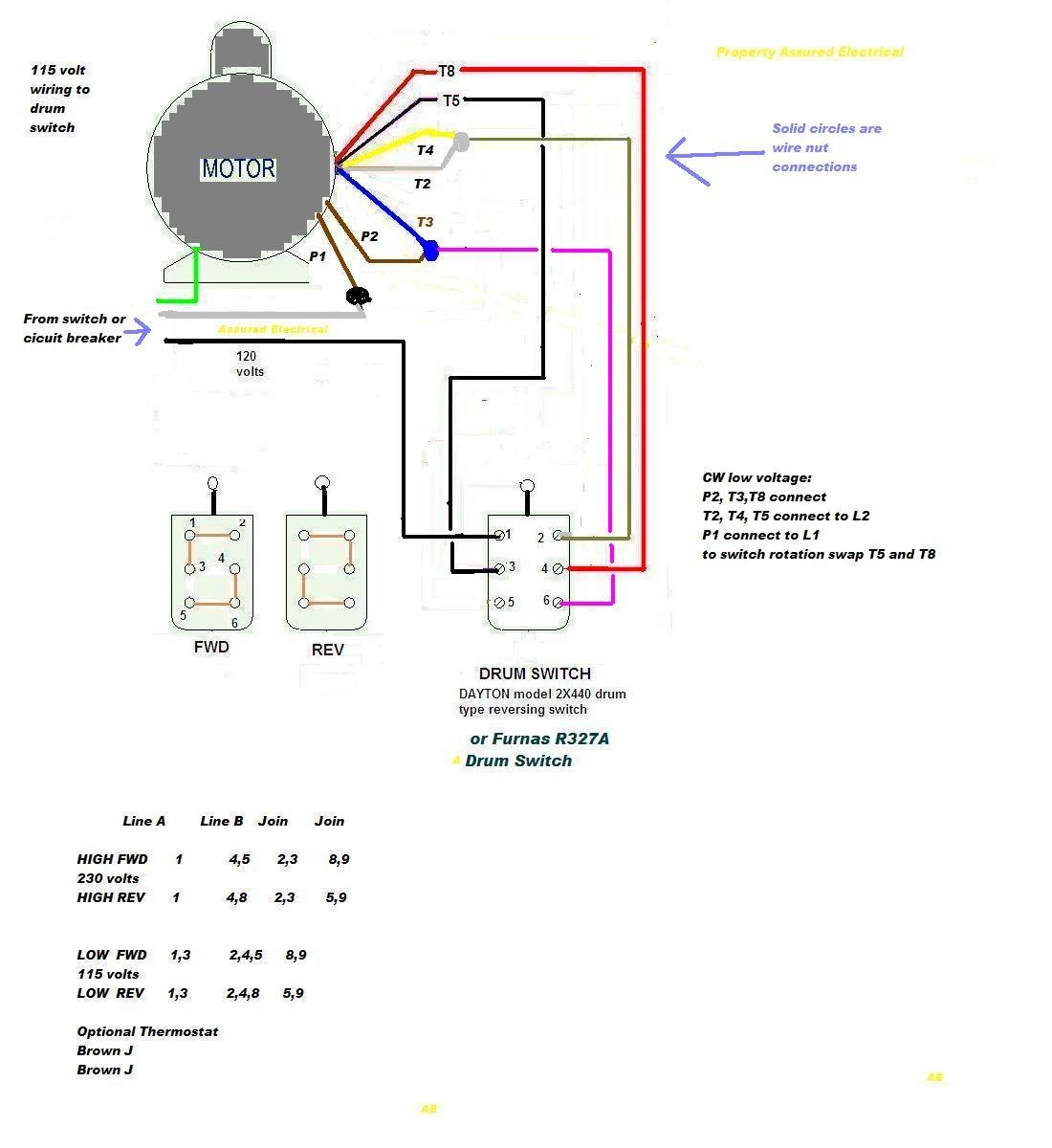 on wiring diagram 1 hp leeson motor
