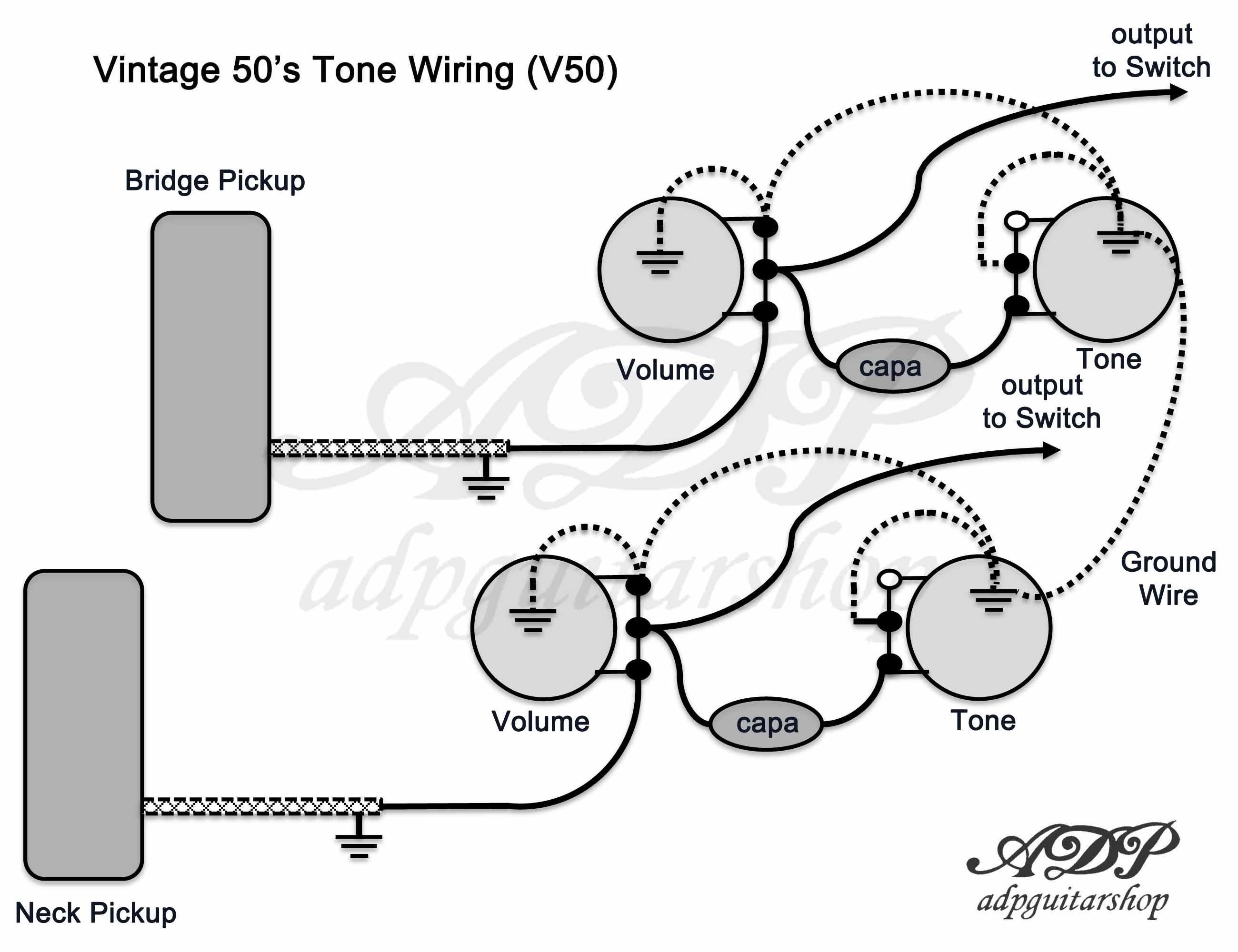 les paul studio wiring diagram