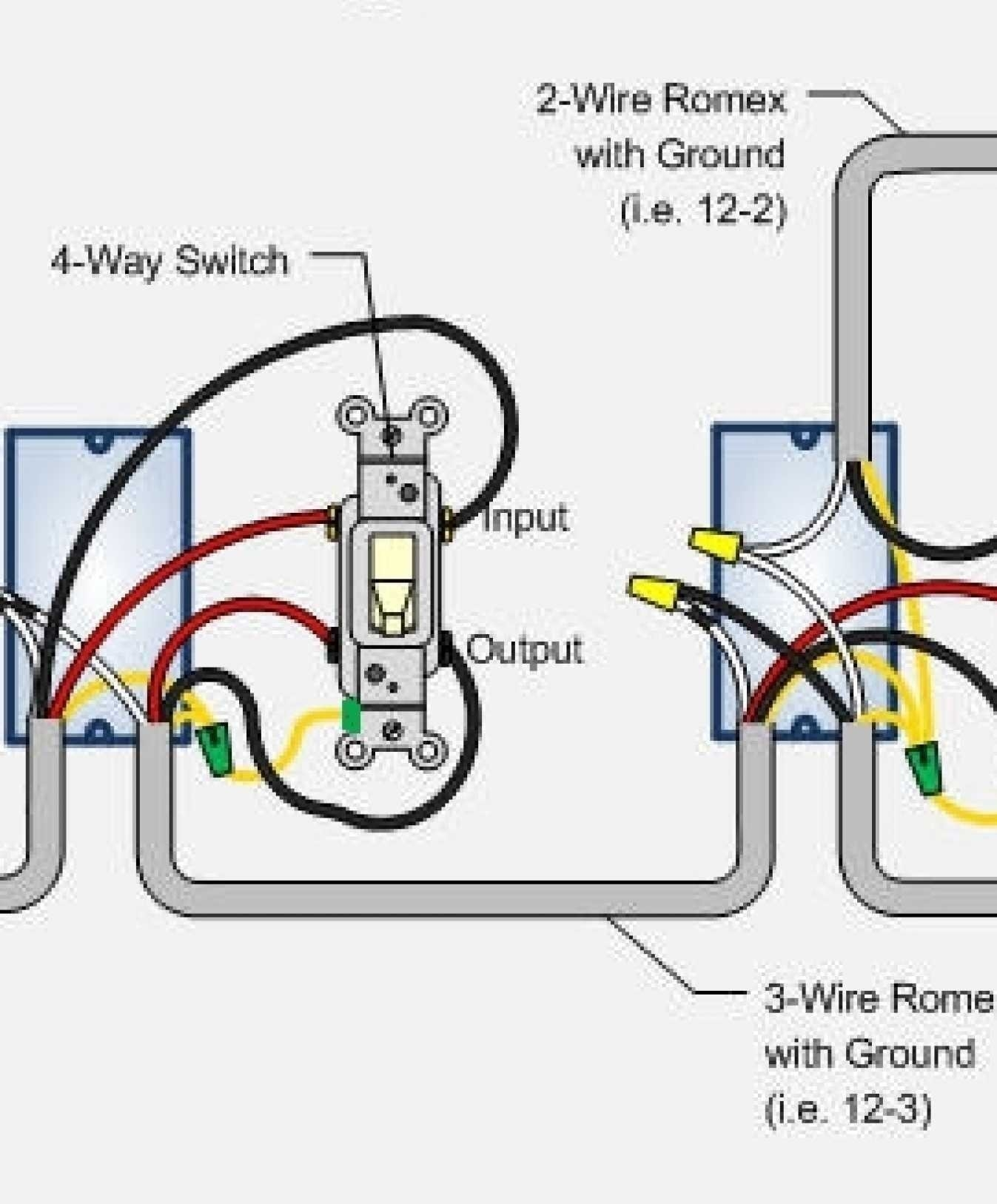 Diagram 4 Way Switch Wiring