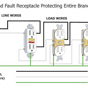 Leviton Gfci Receptacle Wiring Diagram - Leviton Gfci Wiring Diagram New Gfci Wiring Diagram without Ground Valid Gfci Circuit Breaker Wiring 11s