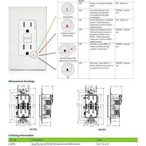 Leviton Gfci Receptacle Wiring Diagram - Leviton Gfci Wiring Diagram New Leviton Gfci Receptacle Wiring Diagram Archives Kobecityinfo 8h