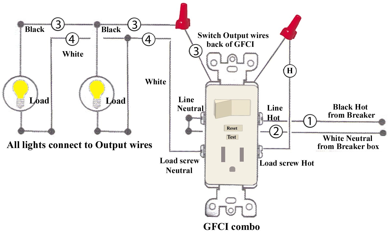 Leviton Switch Outlet Combination Wiring Diagram - Wiring Diagram for Light Switch and Outlet Free Wiring Rh Xwiaw Us 6s