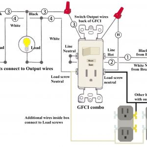 Leviton Switch Outlet Combination Wiring Diagram - Wiring Diagrams for A Gfci Bo Switch Best Wiring Diagram Outlet to Switch Save How to 8k