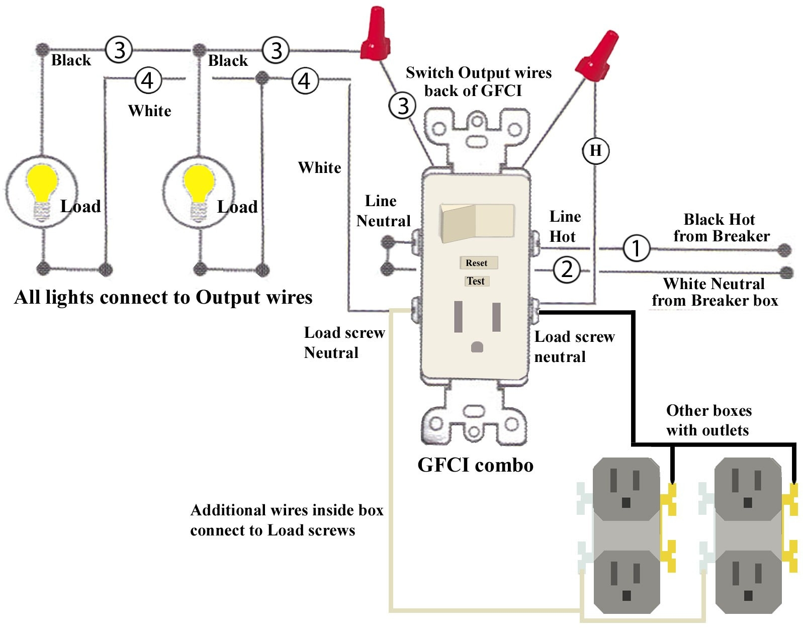 Leviton    Switch    Outlet    Combination       Wiring       Diagram      Free