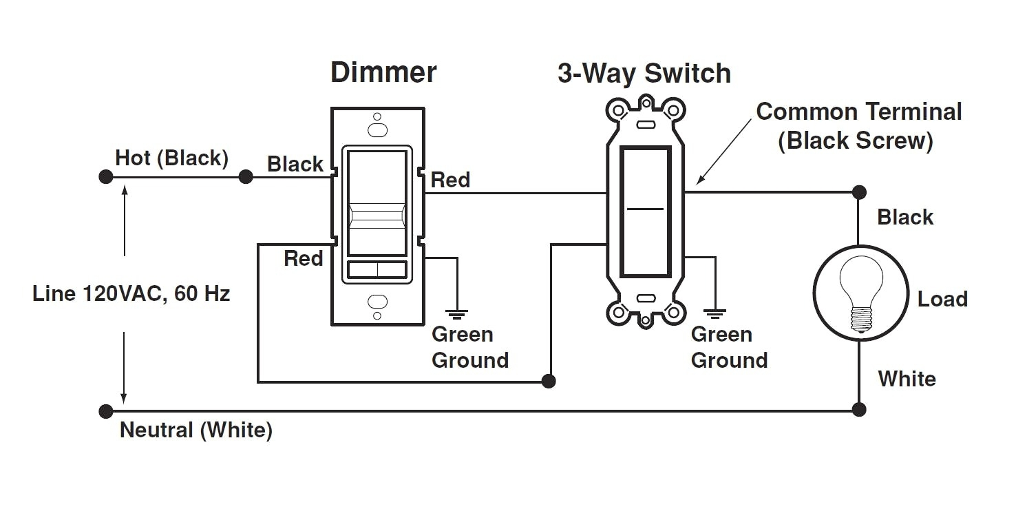 Leviton Three Way Dimmer Switch Wiring Diagram | Free ...