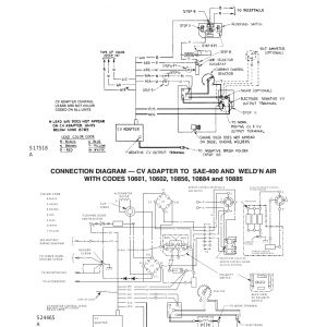 Lincoln Sae 300 Wiring Diagram - Lincoln Sae 300 Wiring Diagram Diagrams Cv Adapter Lincoln Electric Cv Adapter Im309 D User 7n