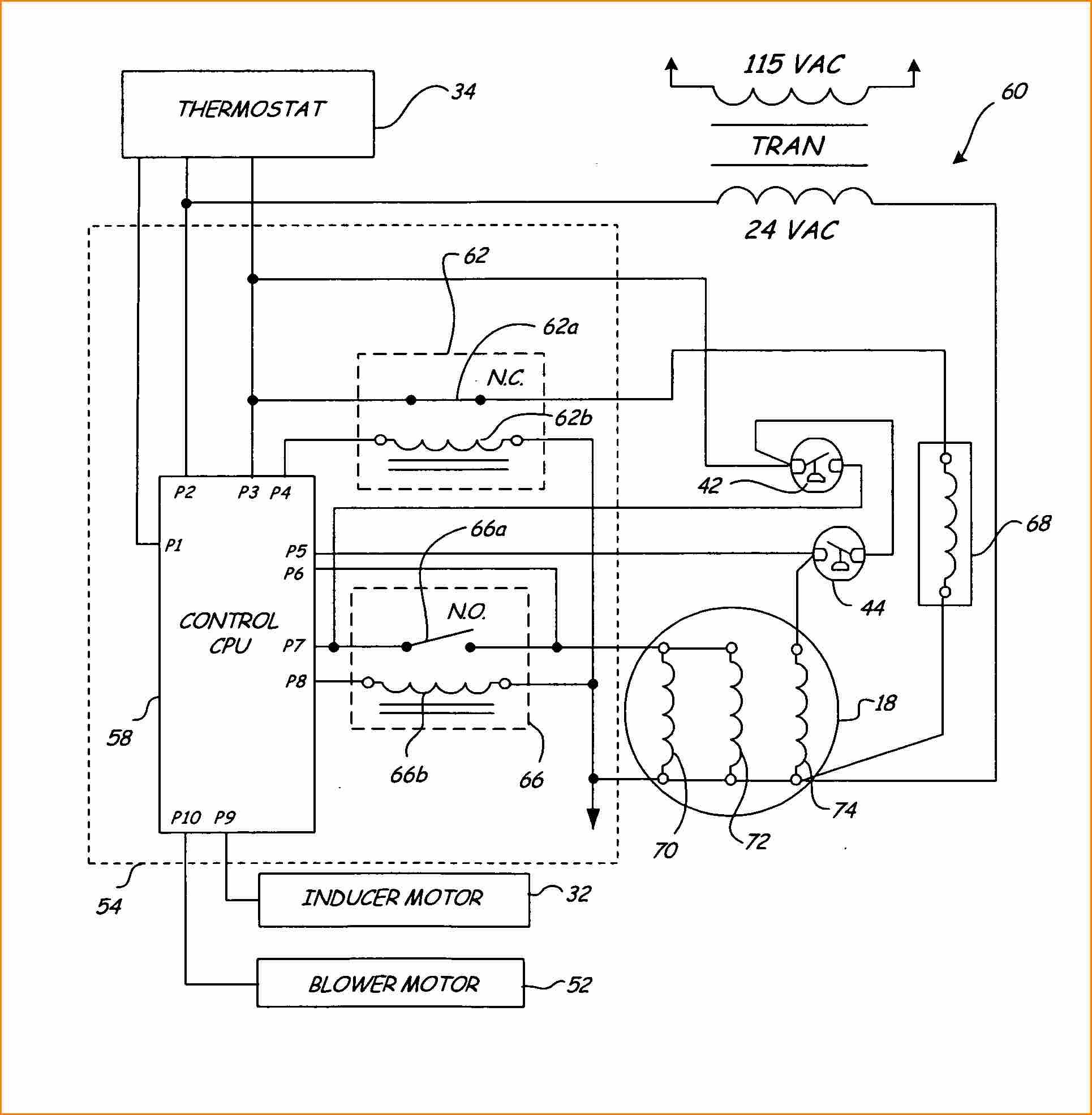 Gas Heater Wiring Diagram Besides Furnace Thermostat Wiring Diagram