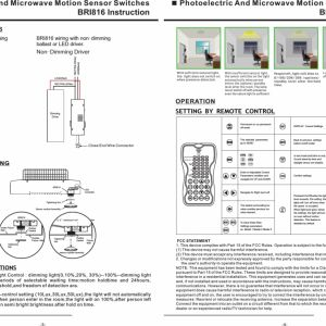 Low Voltage Dimmer Wiring Diagram - Electric and Microwave Motion Sensor Switches User Landscape Lighting Wiring Diagram Low Voltage Elegant Occupancy Outdoor Light Need Exterior House 17k