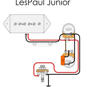Lp Jr Wiring Diagram - Gibson Sg Junior Wiring Diagram Valid P90 Wiring Diagram Les Paul Save Inspirational Les Paul Junior 3g