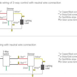 Lutron 3 Way Dimmer Wiring Diagram - Ge Z Wave 3 Way Switch Wiring Diagram Elegant Lutron 3 Way Dimmer Valid Wiring 17o