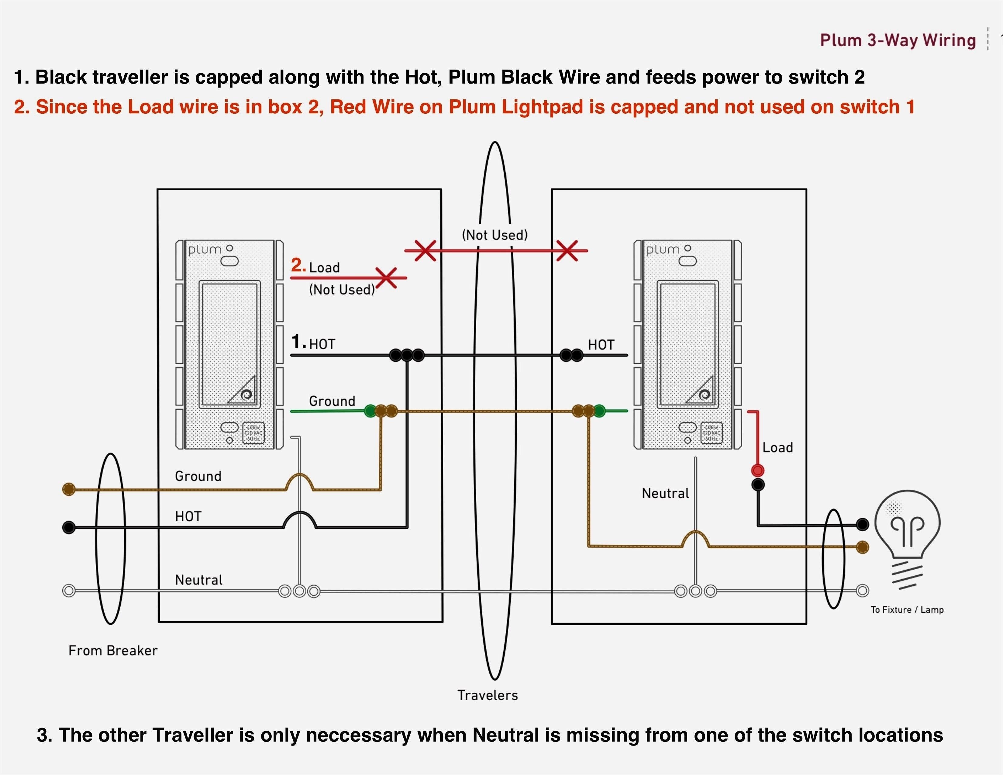 Lutron 3 Way Dimmer Wiring Diagram