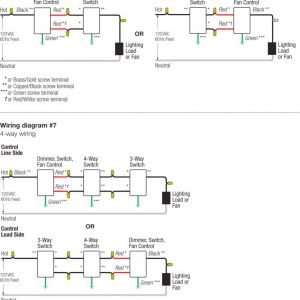 Lutron Caseta Wiring Diagram - Lutron Caseta Wiring Diagram Lutron 3 Way Switch Wiring 8q